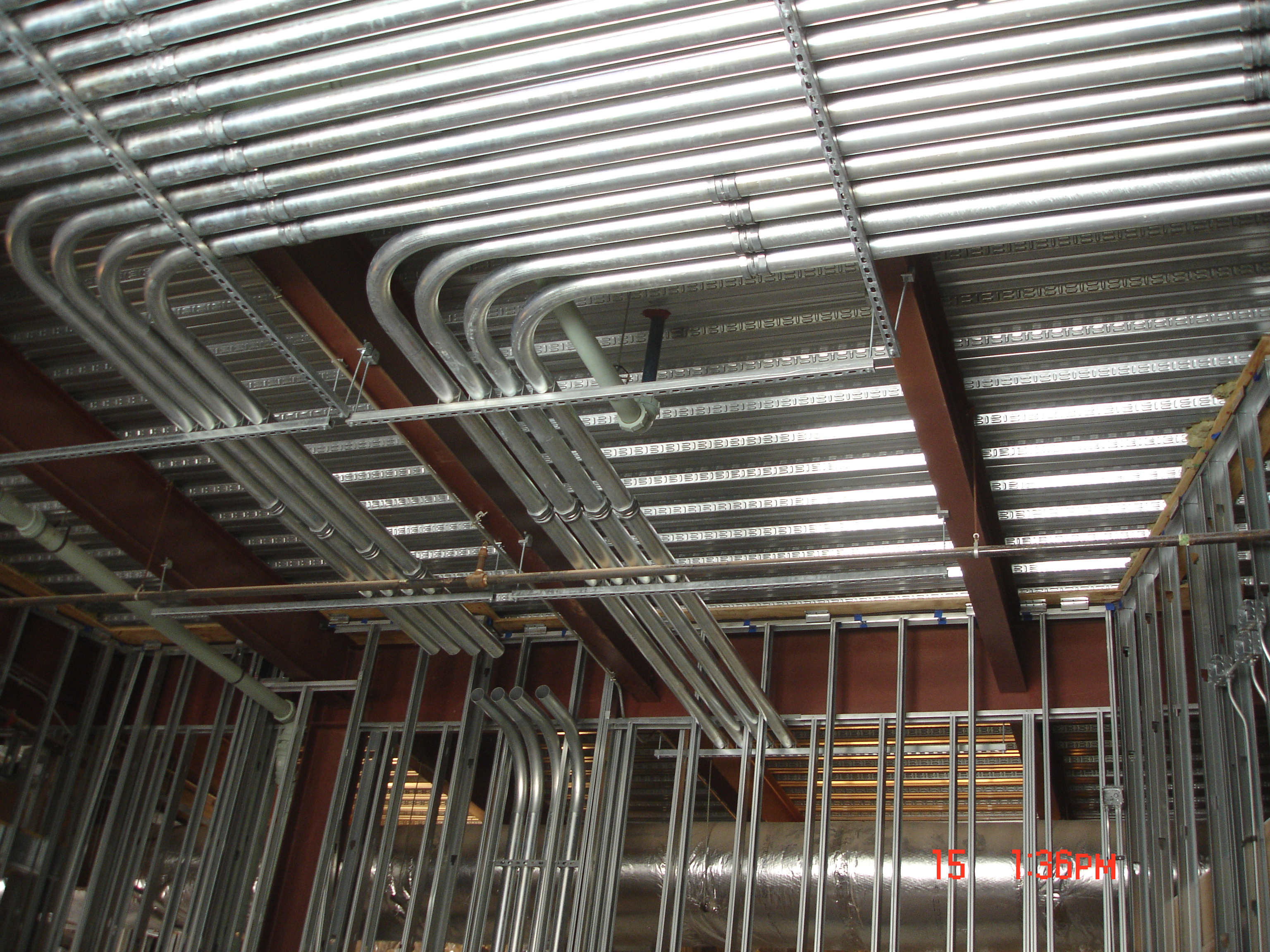 Installation of Conduit for Special Systems at a Local Recording Studio and Sound Stage.